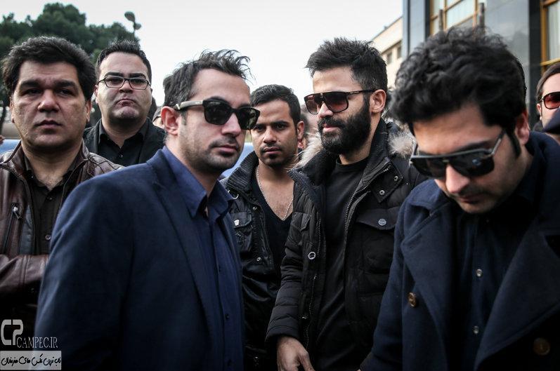 Tashei Morteza Pashaei 12 عکس های هنرمندان در تشییع پیکر مرحوم مرتضی پاشایی