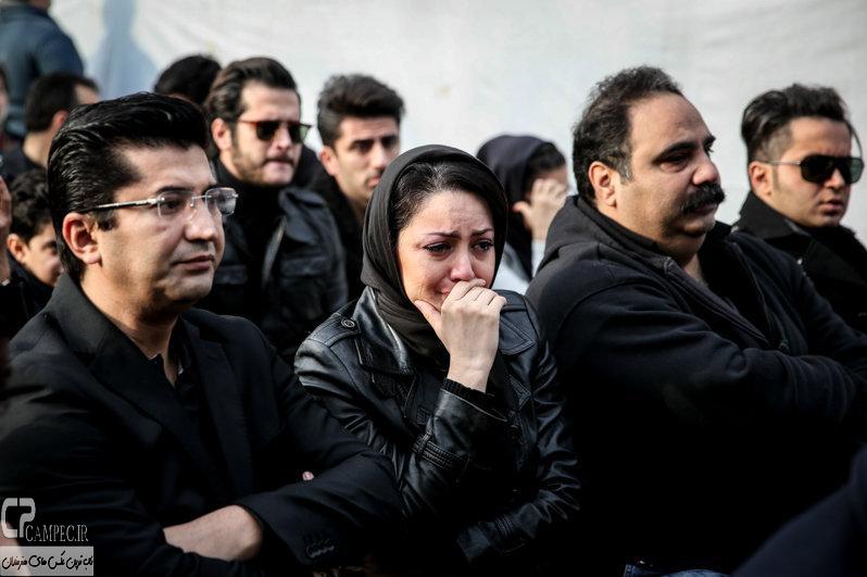 Tashei Morteza Pashaei 15 عکس های هنرمندان در تشییع پیکر مرحوم مرتضی پاشایی