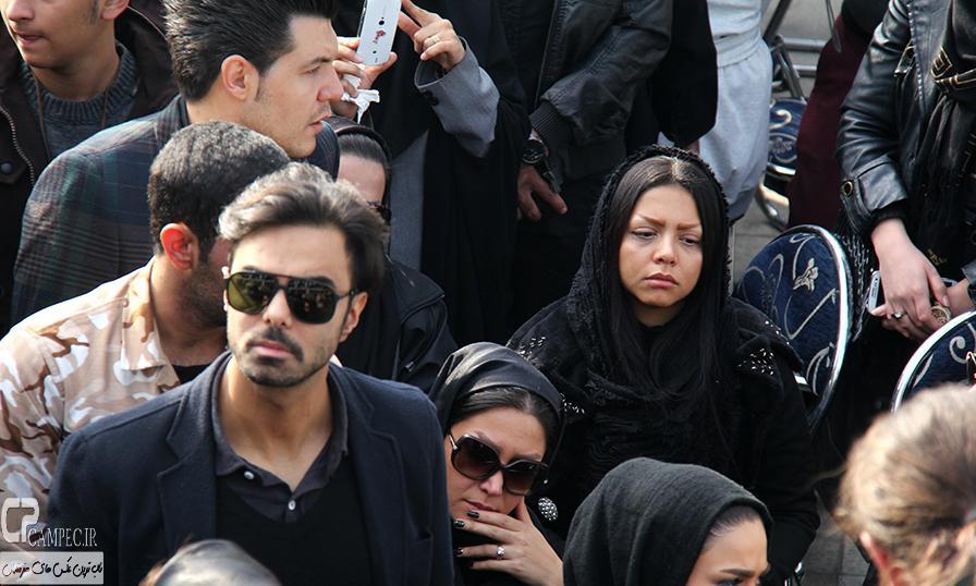 عکس های هنرمندان در تشییع پیکر مرحوم مرتضی پاشایی (2)