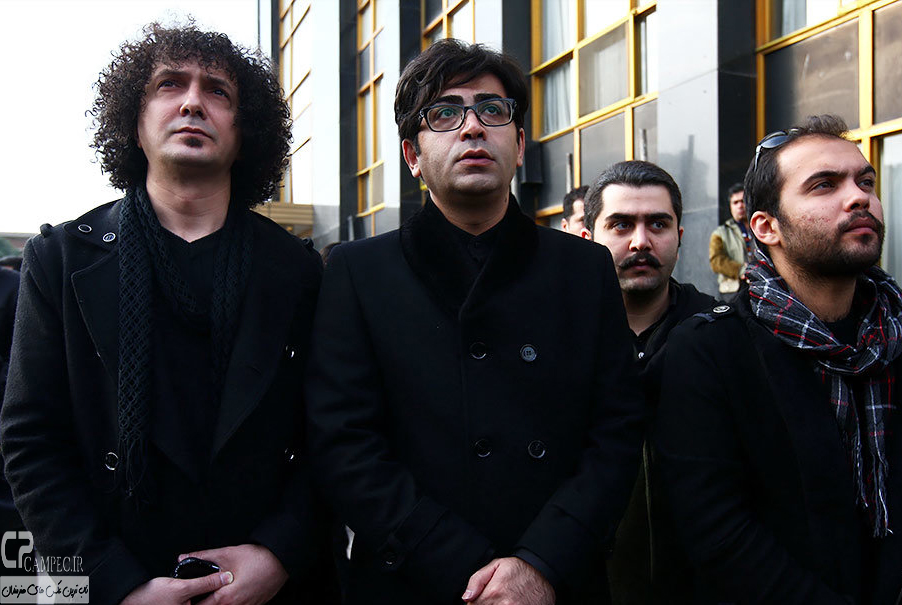Tashei Morteza Pashaei 2 عکس های هنرمندان در تشییع پیکر مرحوم مرتضی پاشایی
