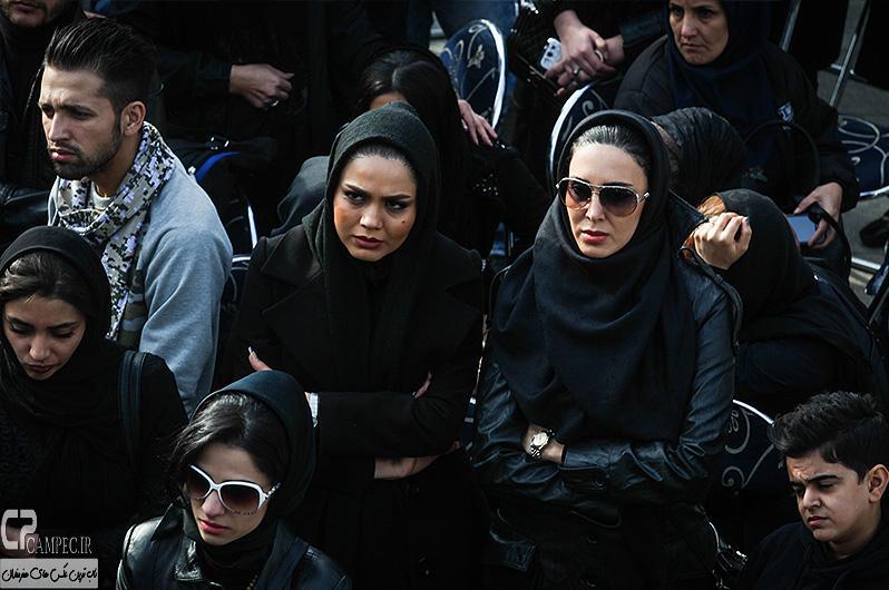 Tashei Morteza Pashaei 4 عکس های هنرمندان در تشییع پیکر مرحوم مرتضی پاشایی