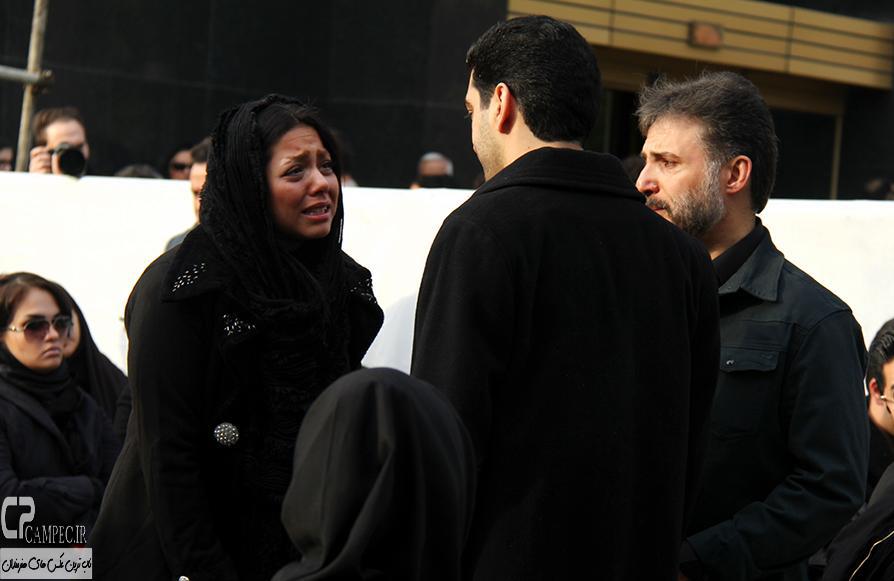 عکس های هنرمندان در تشییع پیکر مرحوم مرتضی پاشایی