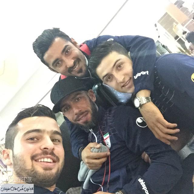 Tim Meli Iran 331 3 عکس های جذاب بازیکنان تیم ملی فوتبال در استرالیا