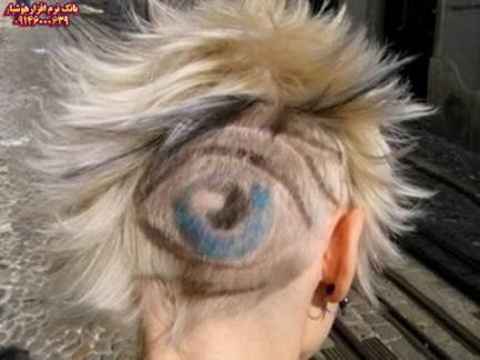 مدل موهای عجیب-سری دوم