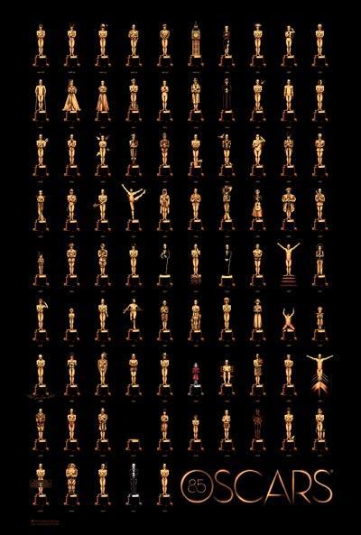 پوستر زیبای اسکار 2013