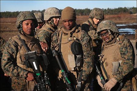 عکس زنان کماندو آمریکا