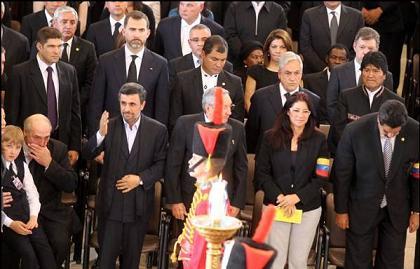 عکس دروغین برای تخریب احمدی نژاد + سند