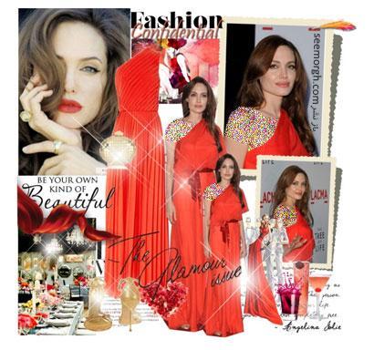 ست لباس های آنجلینا جولی  Anjelina jolie