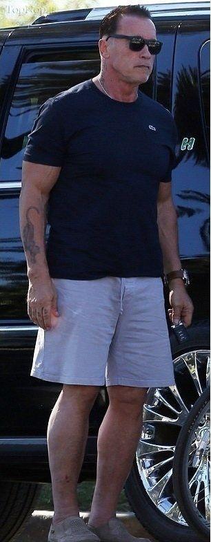 عکس آرنولد در سن 66 سالگی
