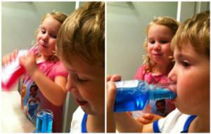 زمان مناسب استفاده کودکان از دهان شویه