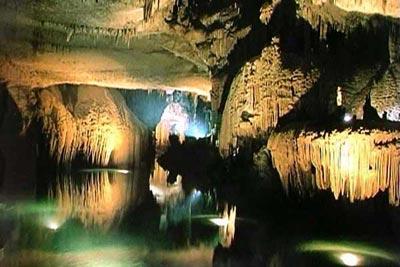 تاریخچه غار علیصدر +عکس