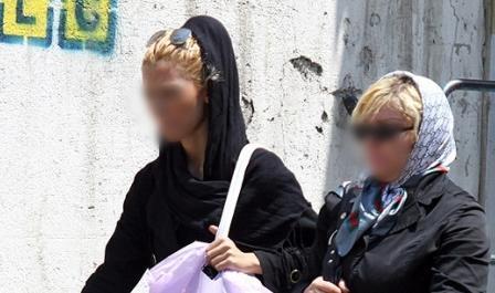عکس زنان بدحجاب
