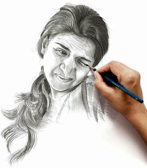 نقاشی خنده دار و زیبا