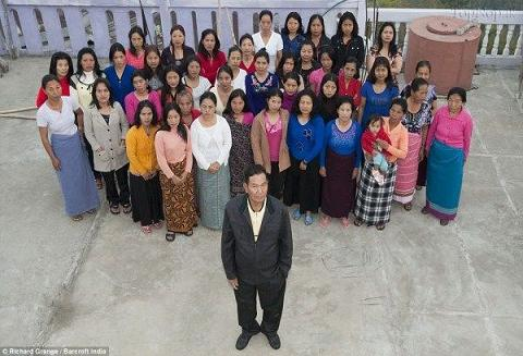عکس پرجمعیت ترین خانواده جهان