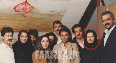 عکس گوگوش + همسرش