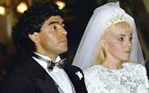 عکس مراسم عروسی مارادونا