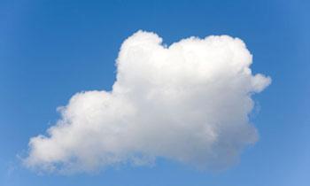 علت دیده شدن ابرها به رنگ سفید؟