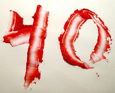 عدد40 و خواص اسرار نهفته آن