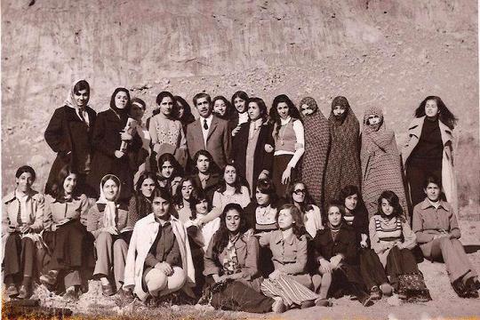 image girls iran 19 عکس هنرمندان قدیمی ایران