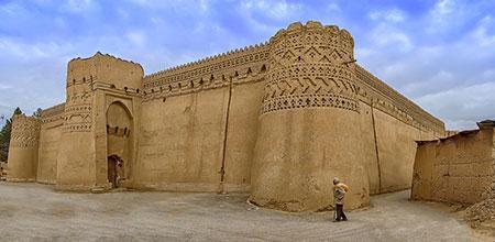 درباره قلعه مهرجرد در میبد+عکس