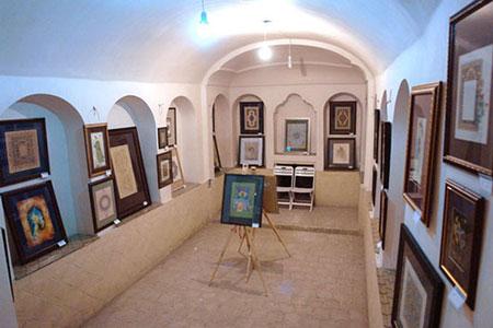 خانه تاریخی و زیبای تاج در کاشان +تصاویر