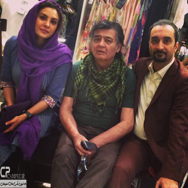 عکس جدید رضا رویگری و حدیث تهرانی