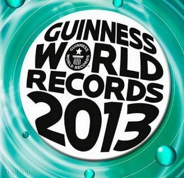 جدیدترین رکورهای گینس سال 2013