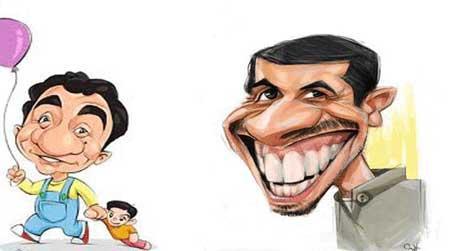 کاریکاتور جواد رضویان-عمو پورنگ
