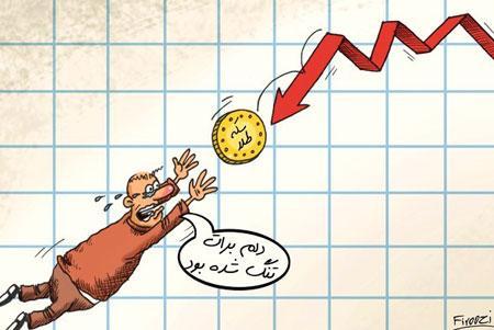 کاریکاتورهای سقوط ارزش سکه