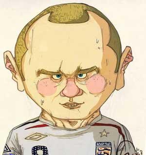 کاریکاتور بازیکنان فوتبال  خارجی
