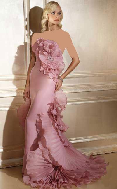 مدل های 2013 لباس شب زنانه