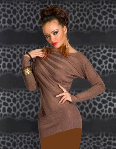 mo7664 لباس کوتاه زنانه مجلسی