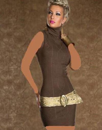 mo7666 لباس کوتاه زنانه مجلسی