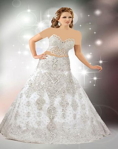 مدل لباس عروس عربی 2013