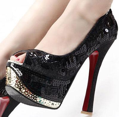 کفش پاشنه بلند مجلسی 92