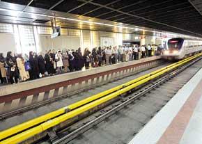 زنی که در مترو قصد خودکشی داشت در بیمارستان درگذشت