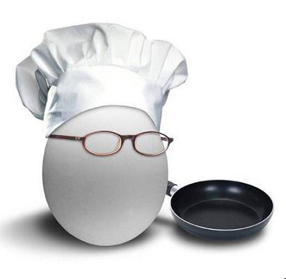 تفاوت درست کردن تخم مرغ دختران و پسران