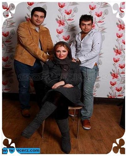 عکس نیوشا ضیغمی + همسرش