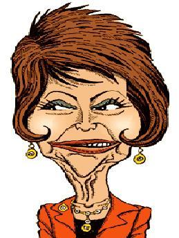 old model cartoon face وقتی زنان مثل شیطان می شوند   طنز