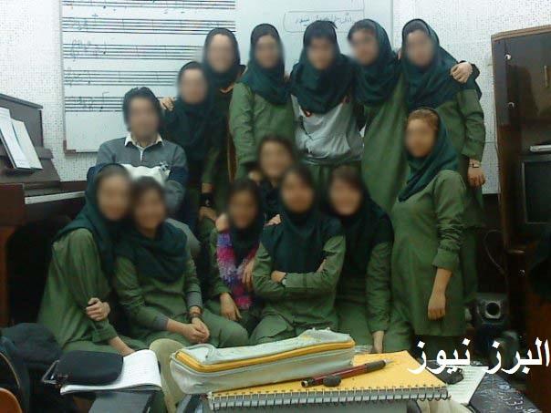 بی بندوباری و بی حجابی دختران در کلاس های موسیقی تهران|www.rahafun.com
