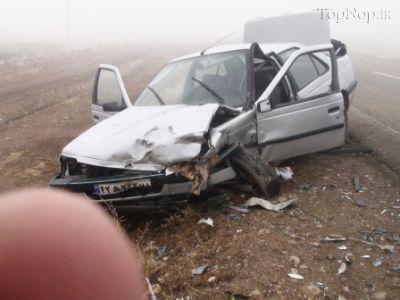 عکس تصادفات دلخراش در ایران