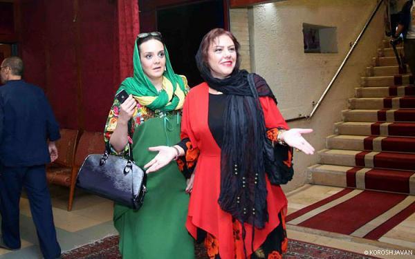 عکس مهمانی بازیگران در روز ملی سینما