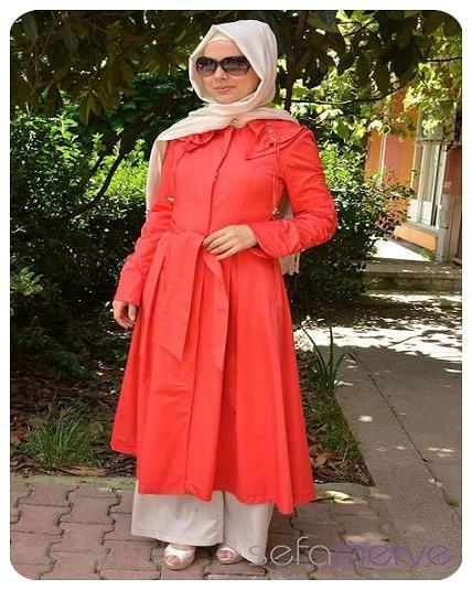 مدل مانتو با حجاب