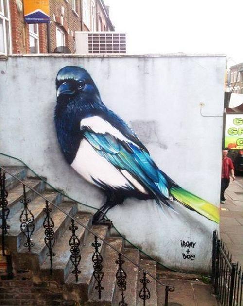 نقاشی های قشنگ جدید,نقاشی های جالب از نوع خیابانی