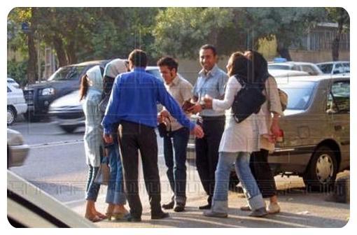 عکس دخترهای بی حجاب تهرانی