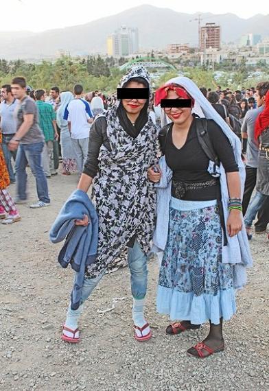 rahafun.com ax 2khtara bihejab tehrani 9 عکس دخترهای بی حجاب تهرانی