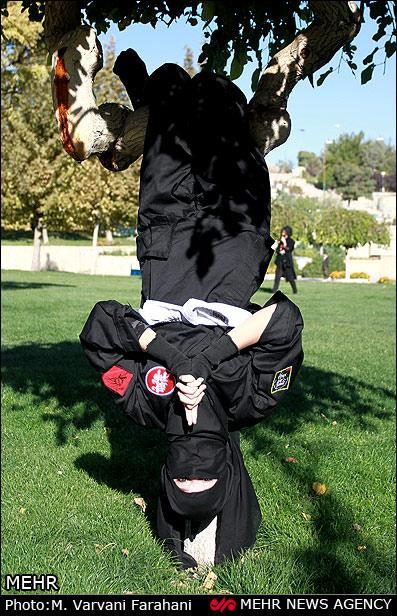 عکس دختر ایرانی,عکس دخترهای نینجا کار ایرانی