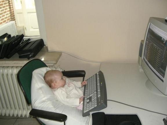 عکس خنده دار زمان کودکی هکرهای حرفه ای