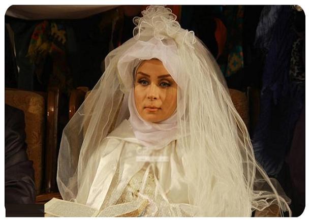 عکس بازیگران ایرانی در لباس عروس