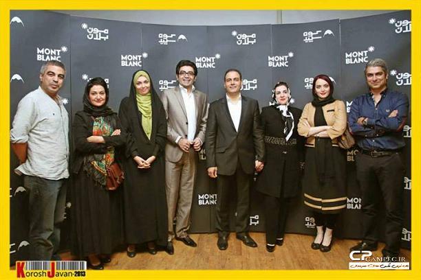 عکس هنرمندان در کنسرت علیرضا قربانی و همسرش